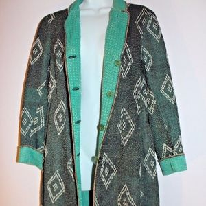 Anthropologie Blank London Jacket duster Large L
